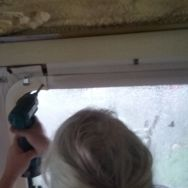 removing the window frames