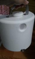 AirHead composting toilet urine container