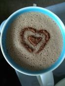 He made me coffee
