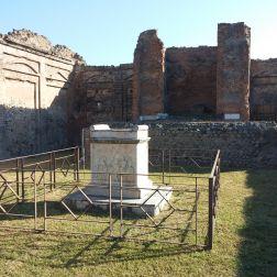 Pompeii Temple to Vespasian